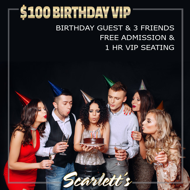 $100 Birthday Party Special