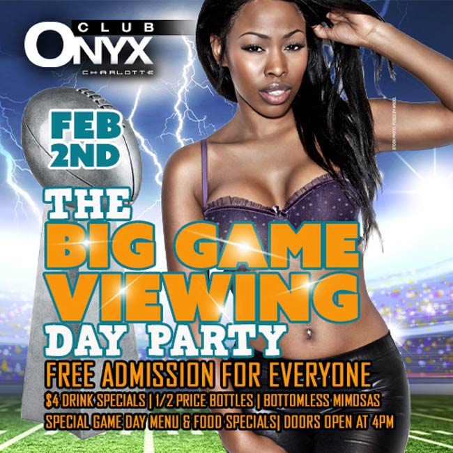 The Big Game Viewing Day Party - Free Entry For Everyone