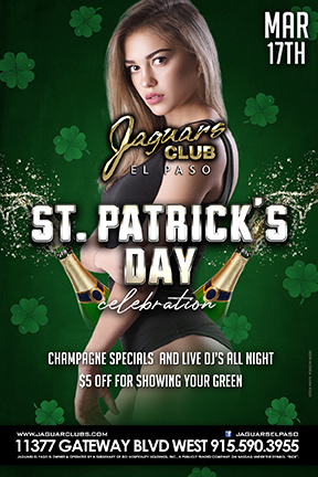 Graphic for St. Patricks Day