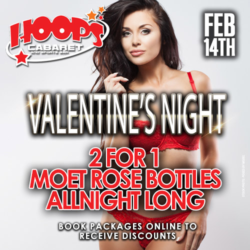 Valentines Night at Hoops