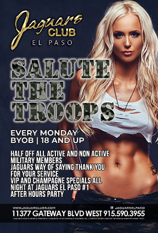 Graphic for Salute The Troops