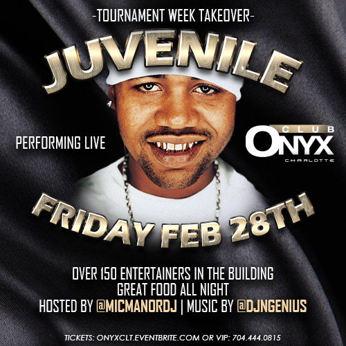 Juvenile Performing Live - Tournament Week Takeover