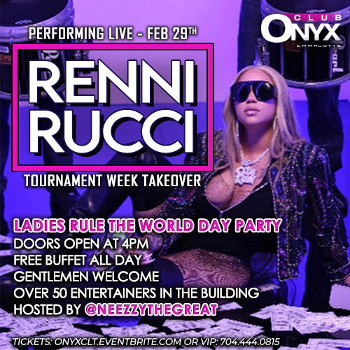 Renni Rucci Performing Live - Ladies Rule The World Day Party