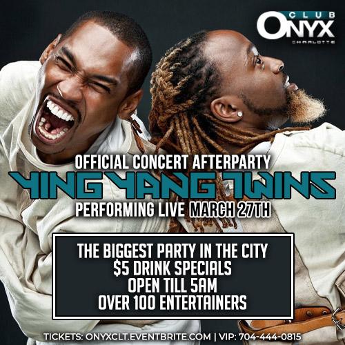 Ying Yang Twins Official Concert Afterparty - Performing Live