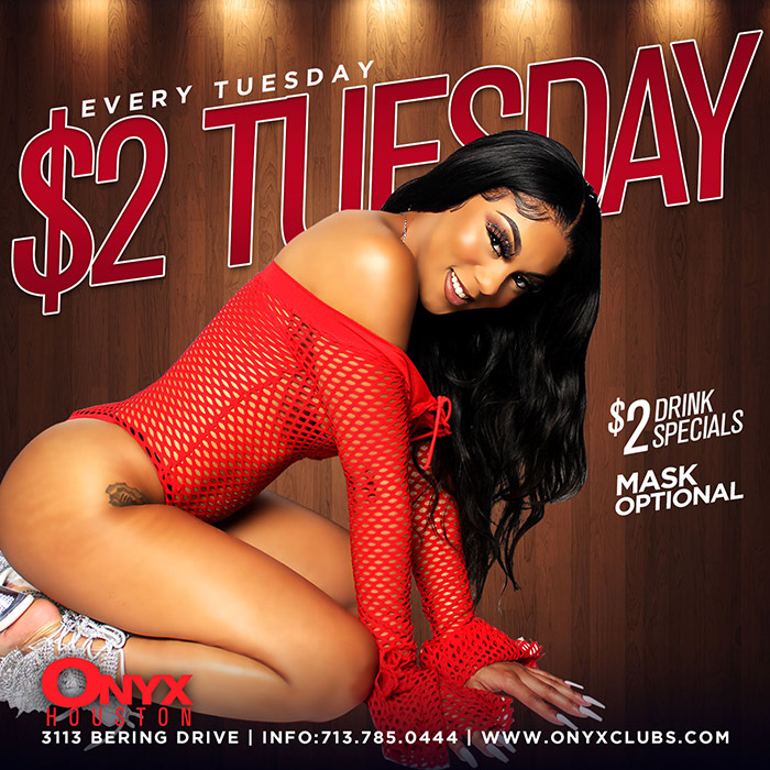 Graphic for $2 Tuesday