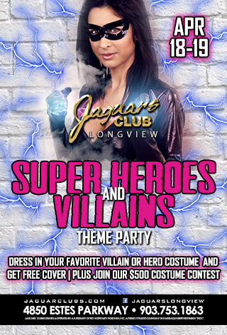 SUPER HEROS AND VILLAINS THEME PARTY