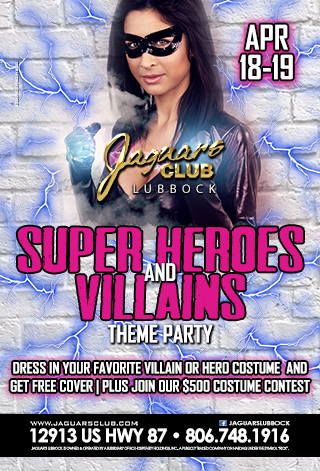 Graphic for SUPER HEROS AND VILLAINS THEME PARTY