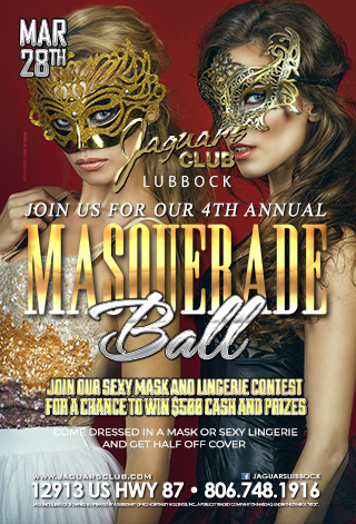 4 ANNUAL MASQUERADE BALL - COME AND JOIN US FOR OUR 4TH ANNUAL MASQUERADE BALL .