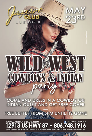 Graphic for wild west ,cowboys and indians theme party