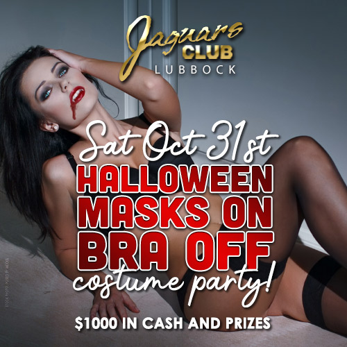 Graphic for Halloween Mask On Bra Off Party!