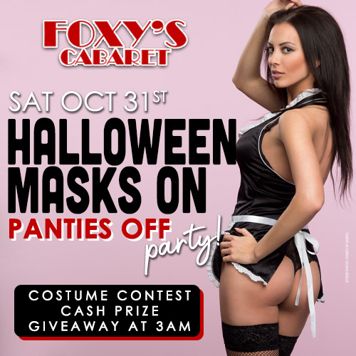 Graphic for Halloween Masks on Panties Off Party!