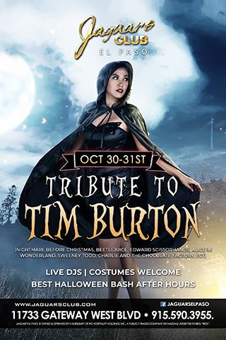 Graphic for Halloween Bash Tribute To Tim Burton