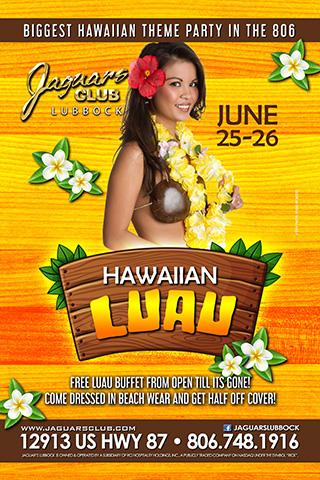 Graphic for HAWAIIAN LUAU