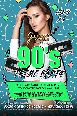 Graphic for 90S THEME PARTY