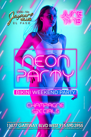 Graphic for Neon Party