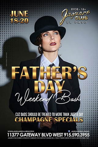 Graphic for Fathers Day Weekend Bash