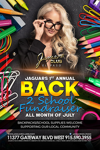 Graphic for Back2School Fundraiser