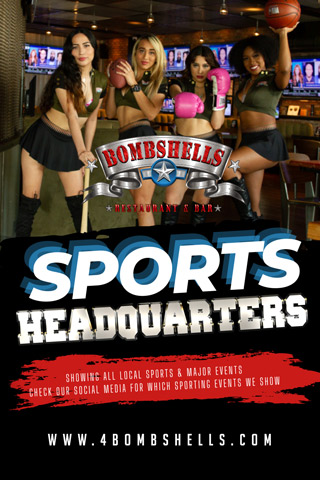 Graphic for Bombshells Sports Headquarters