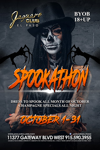 Graphic for October Spookathon