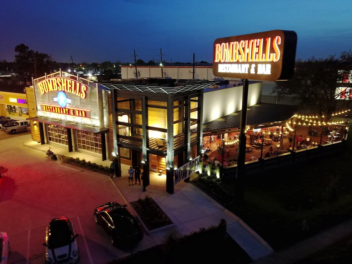 Bombshells at 14191 Northwest Freeway (US 290 at Fairbanks North Houston Road), Houston, TX 77040