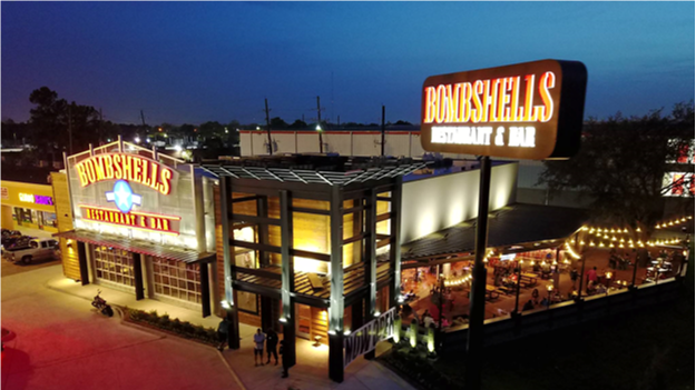 Image of Bombshells 290 at 14191 Northwest Freeway, Houston, TX 77040